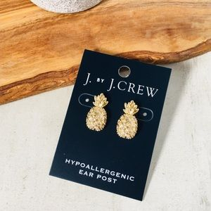 J. CREW Pineapple Earrings